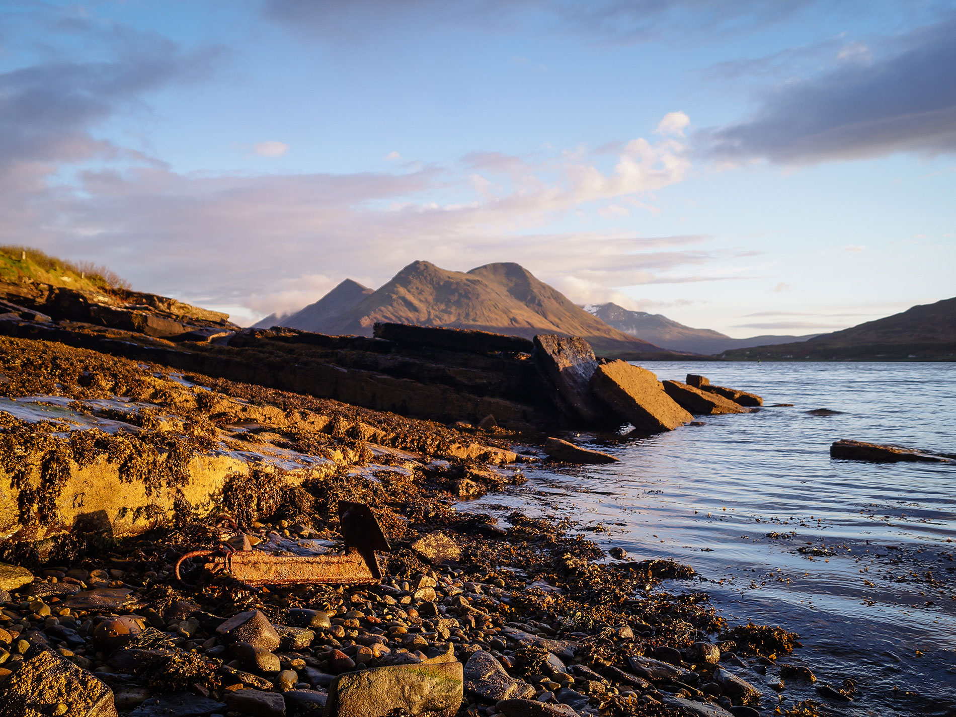 Beach Near Curlews Nest, Raasay
