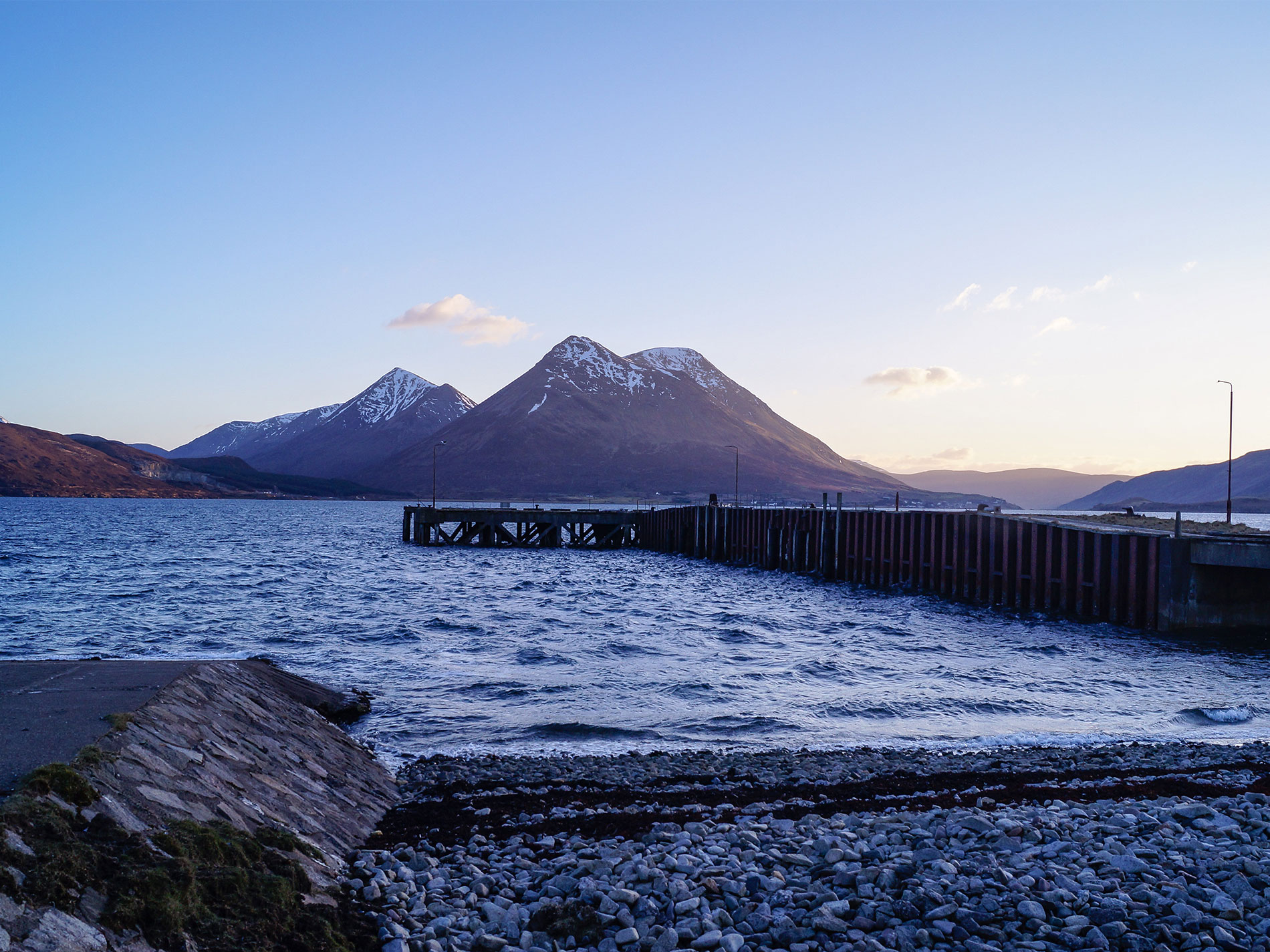 Old Pier, Suisnish, Isle of Raasay
