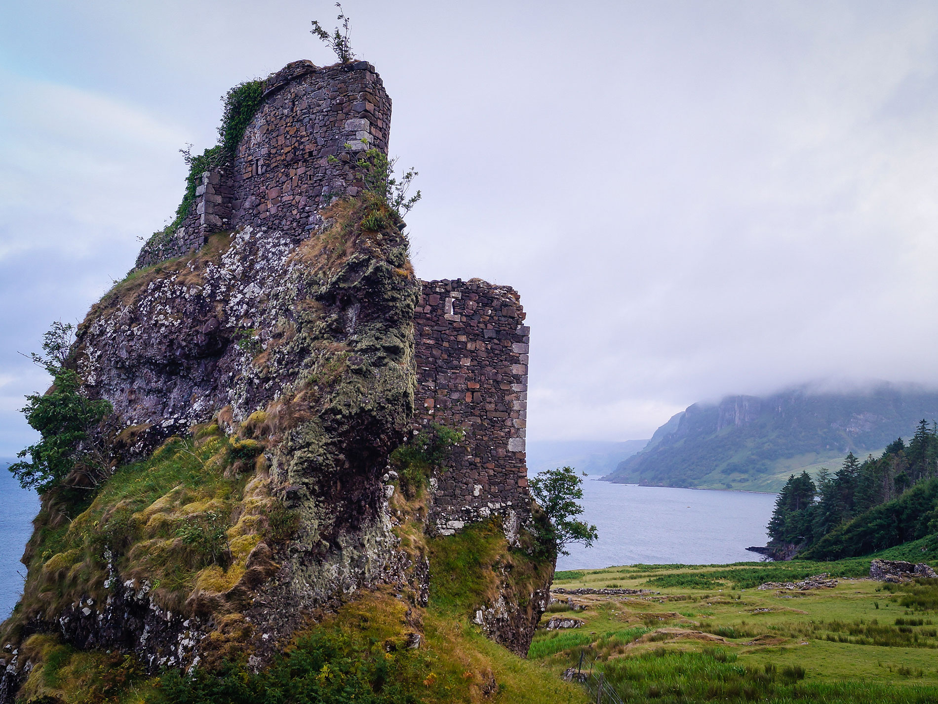 Brochel Castle, Isle of Raasay