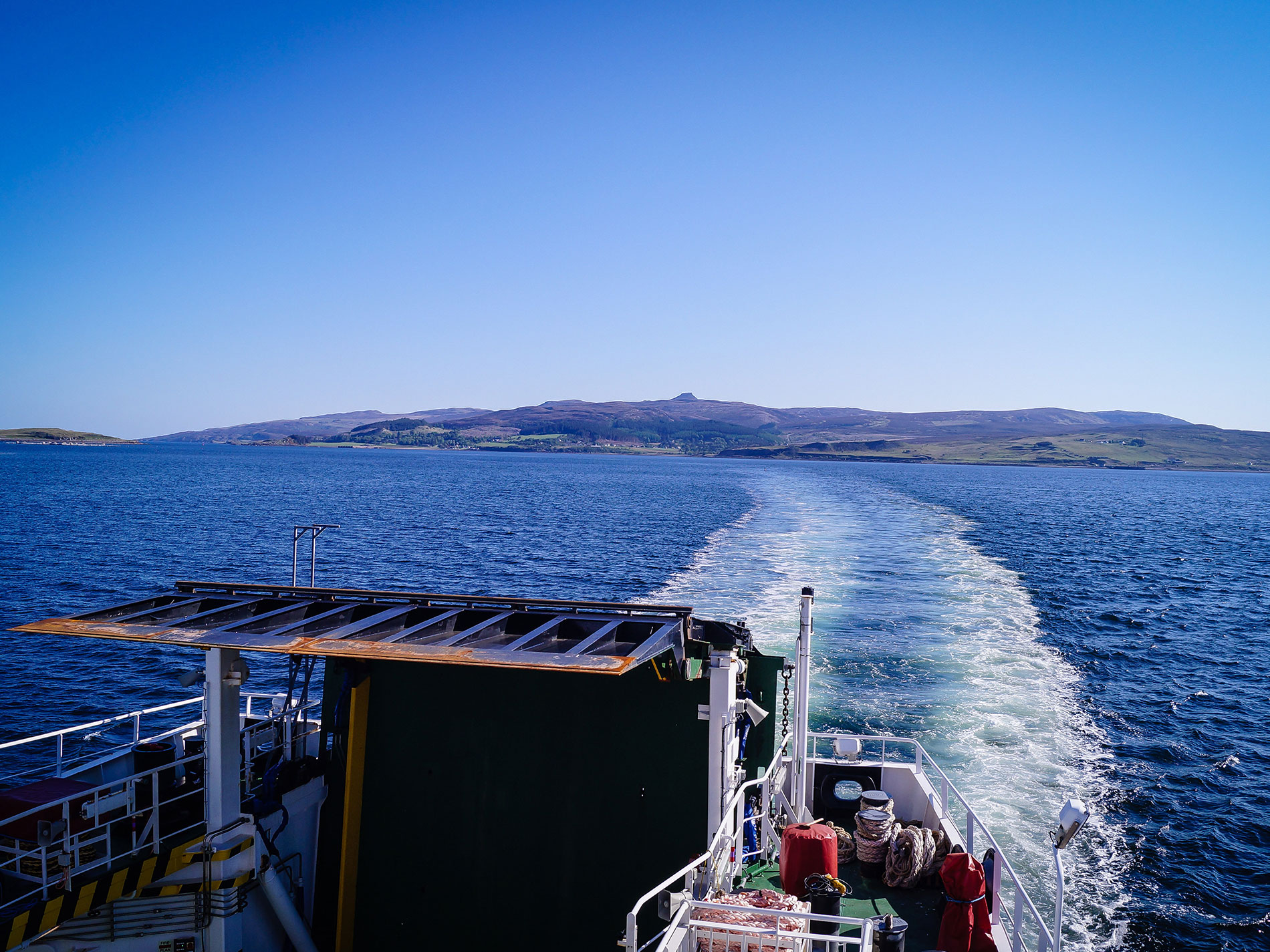 Isle of Skye to Isle of Raasay CalMac Ferry